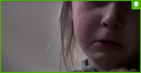 8 летняя девочка погибла от рук отца. Перед смертью она написала это письмо