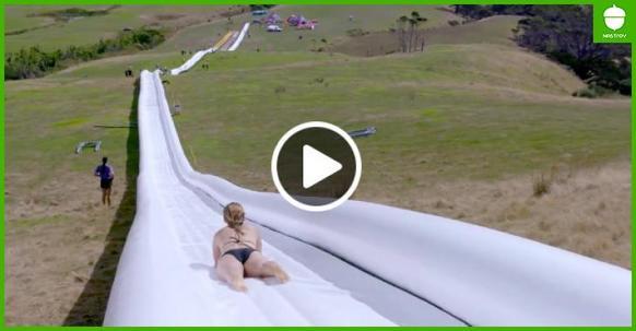 Это самая длинная горка в мире