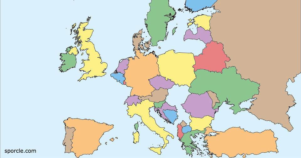 96% людей не могут пройти этот тест по географии. А вы?