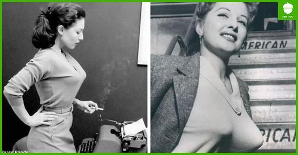 Вот такие лифчики были писком моды В 40 х и 50 х! А вы говорите, молодежь пошла...