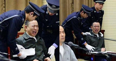 Вот, что делают с коррупционерами в Китае. Не для слабонервных.