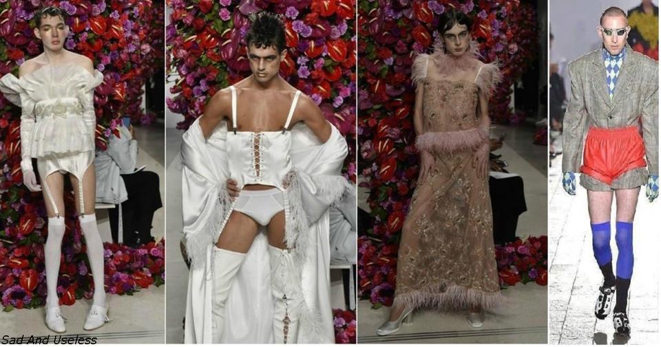 13 раз, когда мужская мода пробила новое дно! Остановите планету, я сойду...