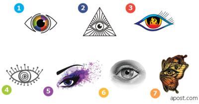 Выберите ″свой″ глаз   и обнаружите что то особенное!