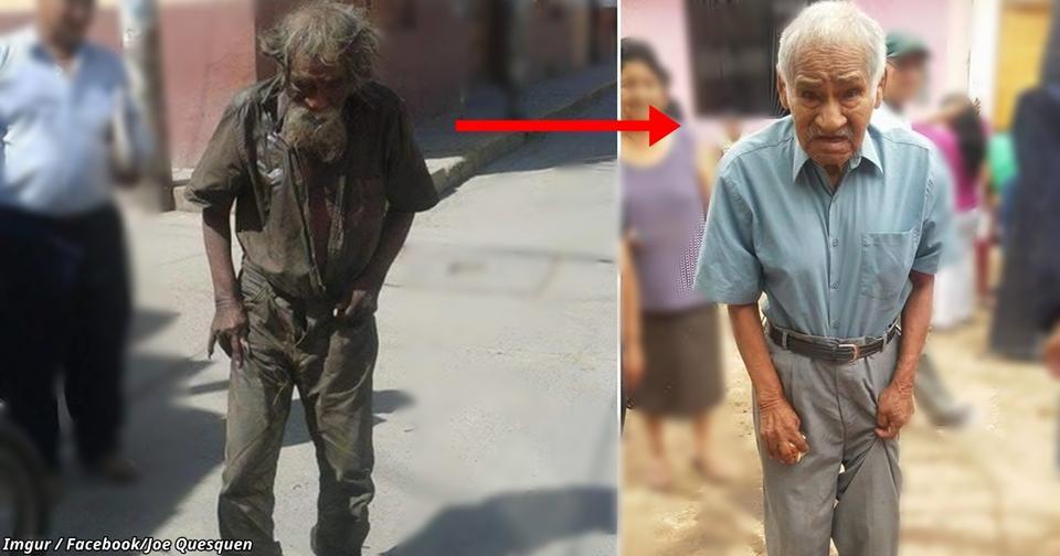 На этих фото   один и тот же человек. Вот что с ним сделали его соседи