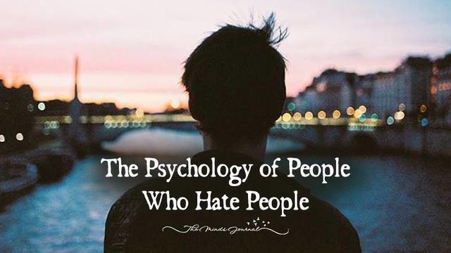 Психология людей, которые ненавидят людей!