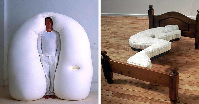 18 невероятно оригинальных кроватей для любителей экстремального сна