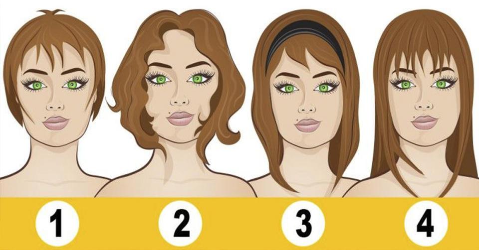 Выберите свою длину волос и узнайте, какую тайну о Вас она выдает… Невероятно…