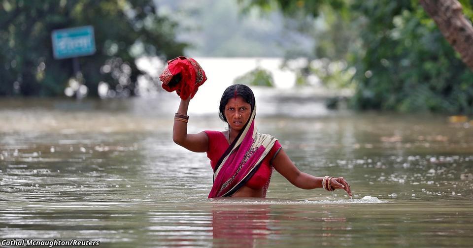 В Южной Азии — худшее наводнение XXI века. Фотографии ужасают!