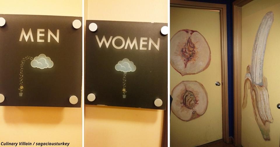 20 доказательств, что искусством может быть даже табличка на дверях туалета