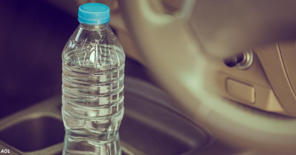 Вот почему нельзя оставлять пустые бутылки в машине. Особенно в жаркий день!