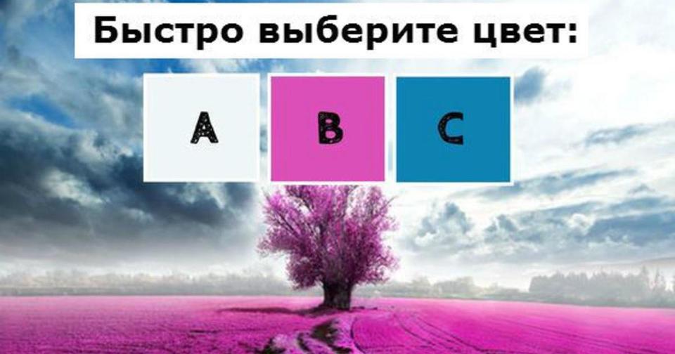 Вот научный тест на цвета! Готовы услышать о себе правду?