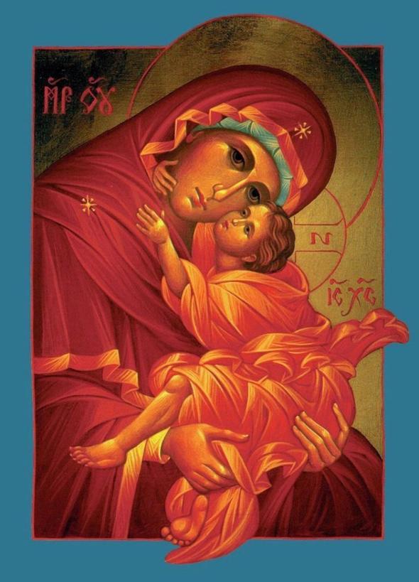 Сильная молитва Богородице о детях