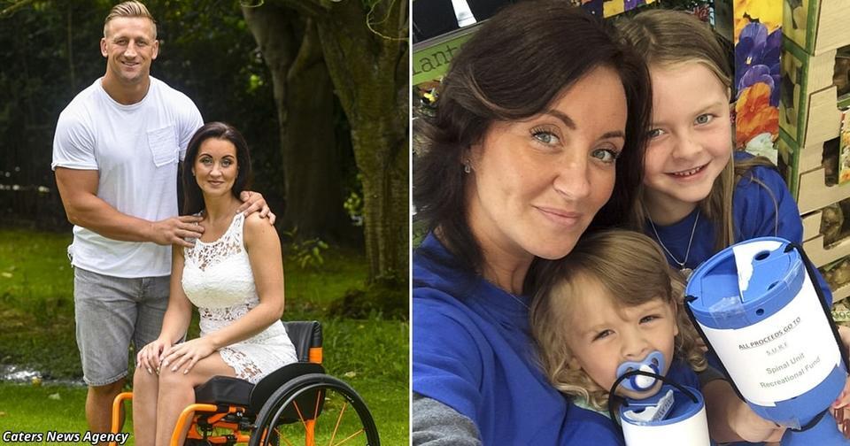 После инсульта муж бросил ее с 4 детьми. Но она нашла свое счастье