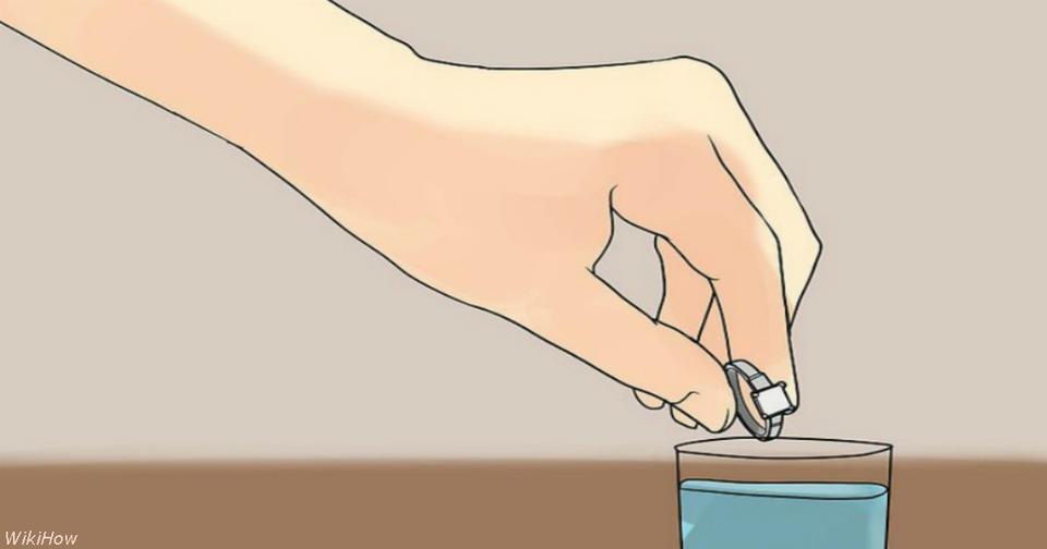 Вот как вернуть блеск вашему золоту и серебру, не выходя из дома