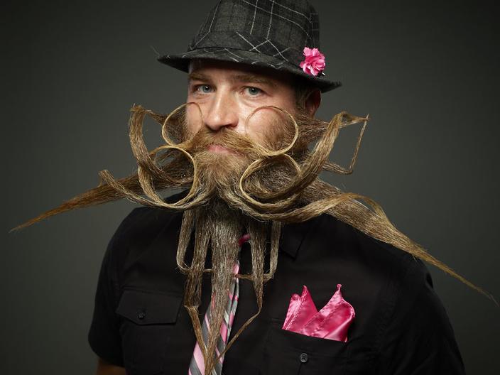 29 победителей Всемирного чемпионата бород и усов 2017 года