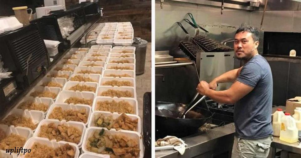 Ресторан бесплатно накормил 1000 жертв урагана Харви, но СМИ ничего об этом не пишут