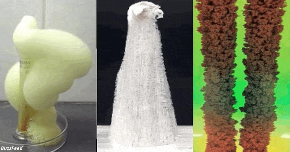 14 химических реакций, которые выглядят как настоящая магия