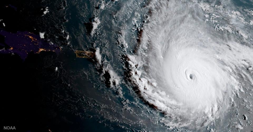 На Америку надвигается Ирма — самый мощный ураган в истории!