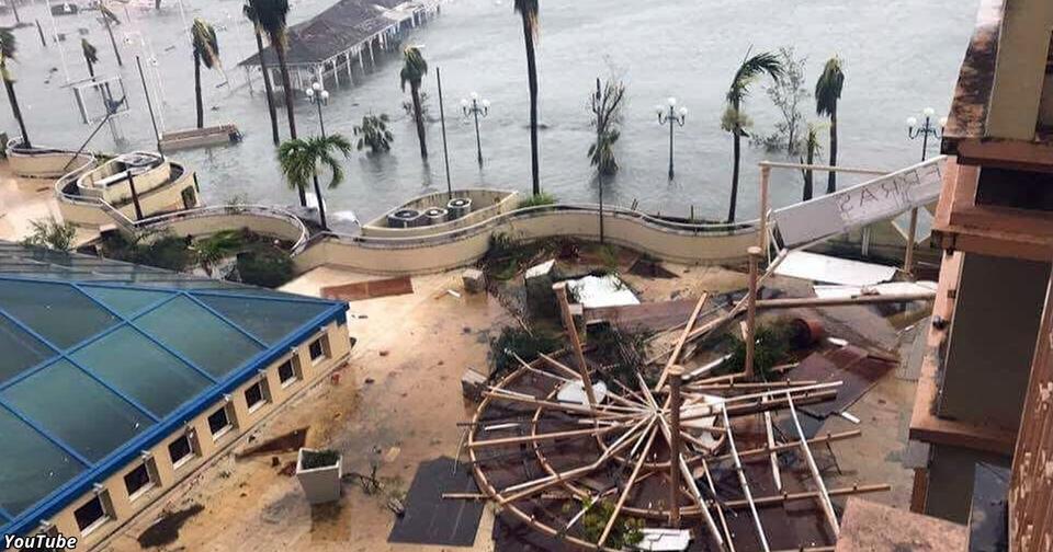 Помните пляж, над которым приземлялись самолеты? Ураган Ирма его уничтожил!
