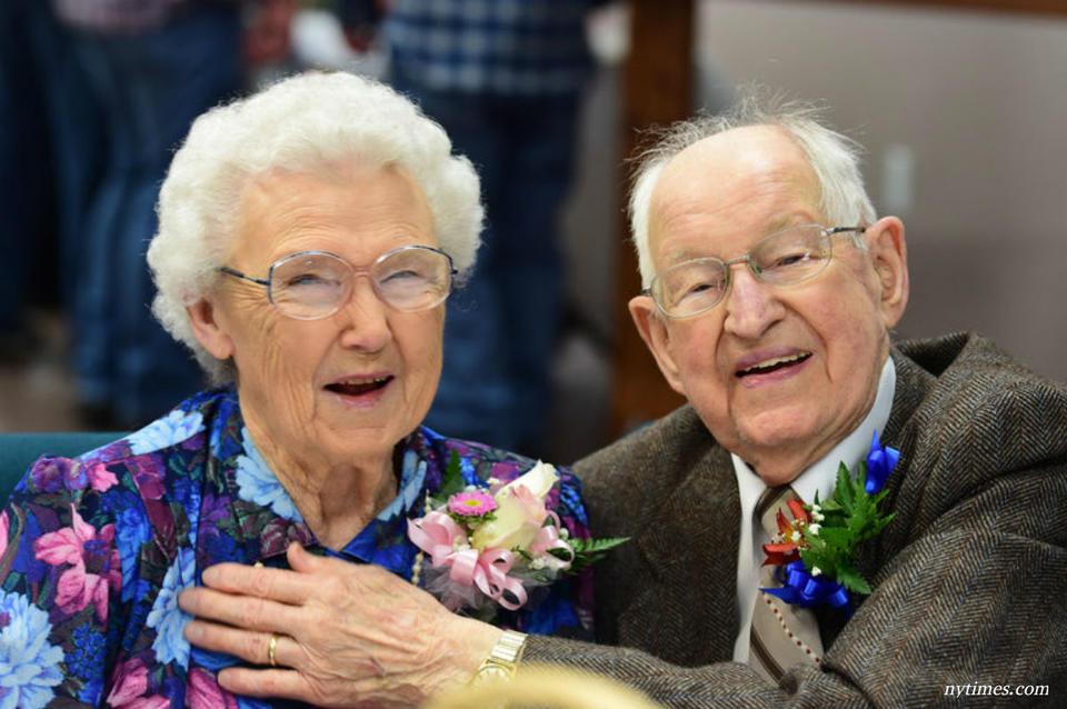 75 лет в браке: Харви и Ирма не верят, что ураганы назвали их именами!