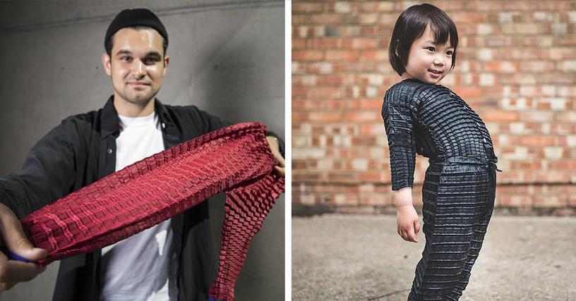 Британец создал концепт детской одежды, которая растёт вместе с ребёнком