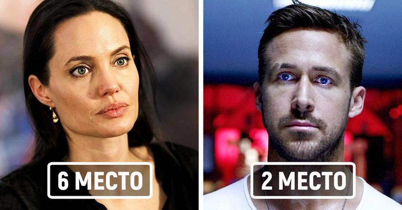 Это любопытнейшее исследование вычислило самых печальных актёров Голливуда