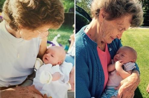 25 трогательных фотографий бабушек и дедушек в момент их первой встречи со своими внуками