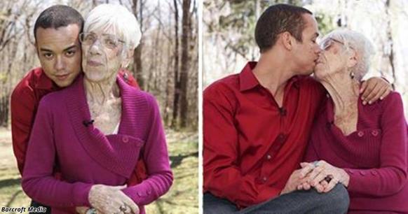 Ему 31, ей   91! И их любовь доказывает, что возраст ничего не значит