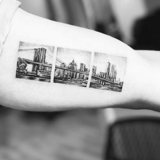 19 ярких тату о путешествиях, от которых вам сразу захочется в отпуск
