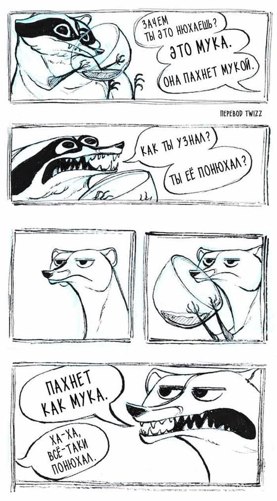 28 комиксов про чертовски обаятельного енота, в котором каждый взрослый узнает себя