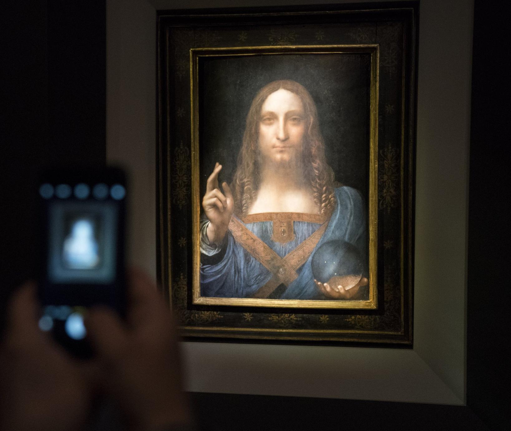 Картину да Винчи продали за рекордные USD450 млн. И даже не факт, что это не подделка!