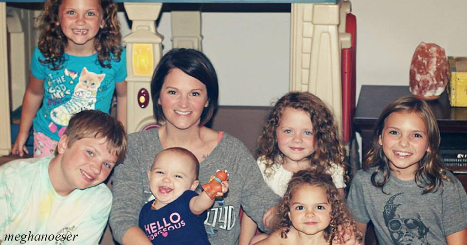 Мать 6 детей уехала на выходные, и вот какую инструкцию по выживанию она оставила мужу