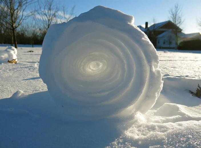 35 раз, когда лед и снег неожиданно стали искусством