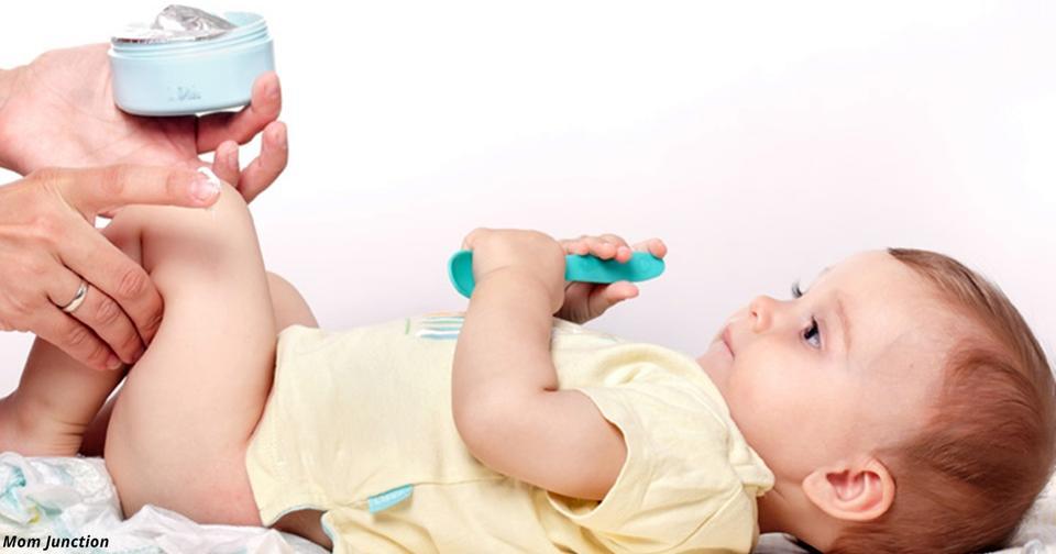 Вот как избавить тело своего малыша от сыпи после подгузников