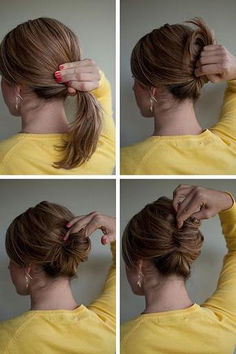 Как самой сделать прическу на короткие волосы