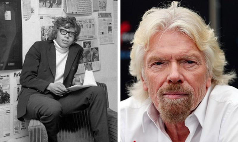 На этих фотографиях запечатлены очень и очень богатые люди в начале своего пути и на вершине Олимпа. Разница налицо