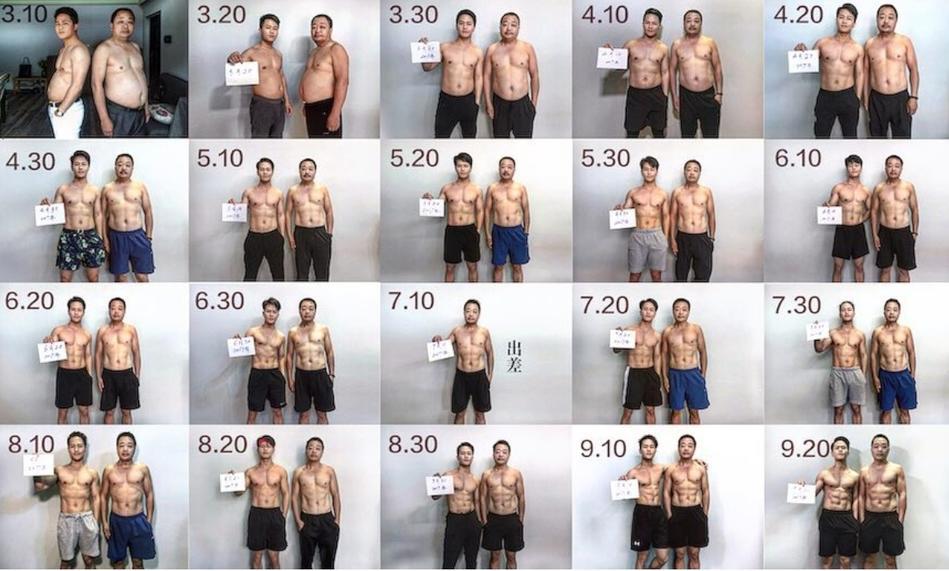 Они решили тренироваться всей семьей, чтобы похудеть и через 6 месяцев впечатлили своими результатами