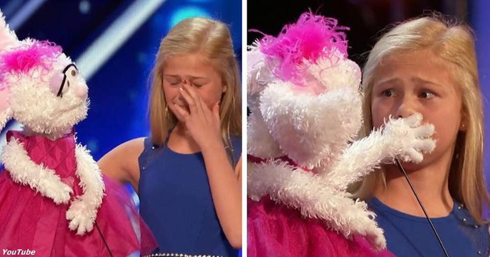 12 летняя девушка вышла на сцену шоу талантов. Такого мир еще не видел!