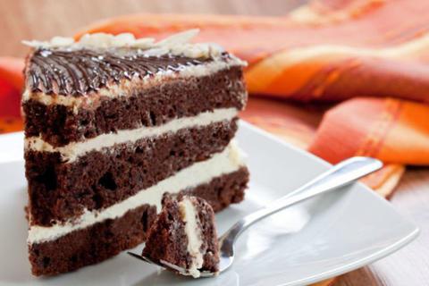 Рецепт вкусного торта на кефире «Чёрный принц»