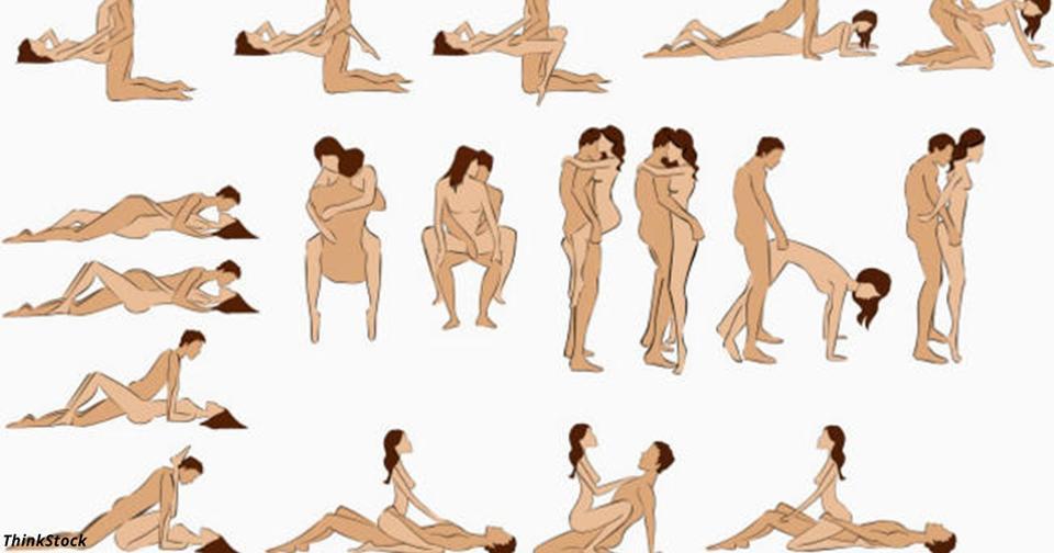 Секс позиции полного человека