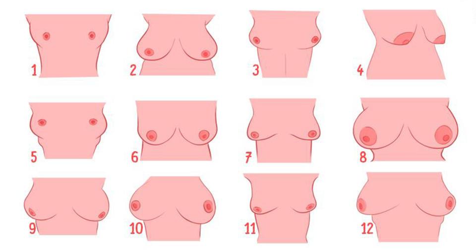 Фото женской груди с большими ореолами — pic 7
