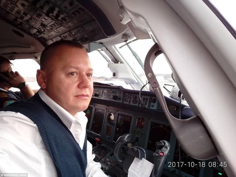 ″Огненный шар″: Уже есть видео крушения пассажирского самолета под Москвой