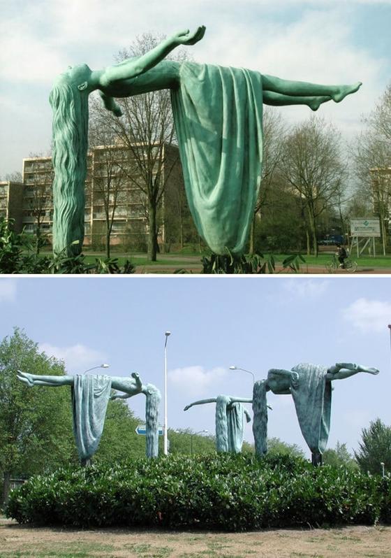 20 удивительных скульптур, которые кажутся настолько неустойчивыми, что рядом с ними даже дышать страшно