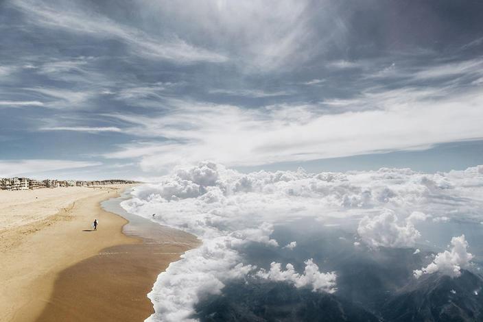 Я просто представил, каким был бы наш мир, если бы могли плавать в небесах...