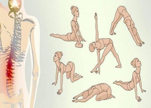 Простые позы из йоги от болей в спине