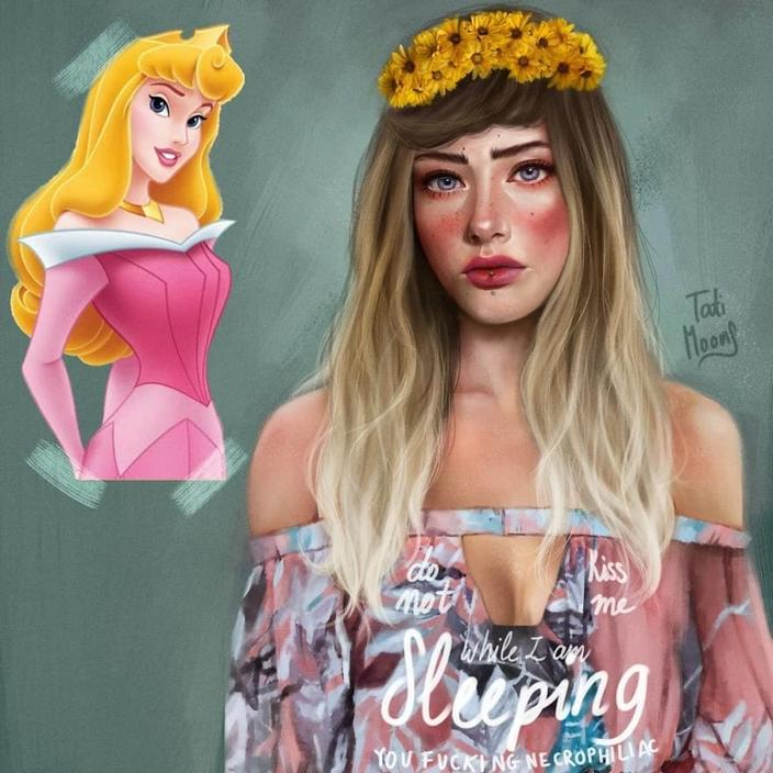 Эта художница перерисовывает известных мультяшек, делая их более реалистичными. И знаете — они крутые