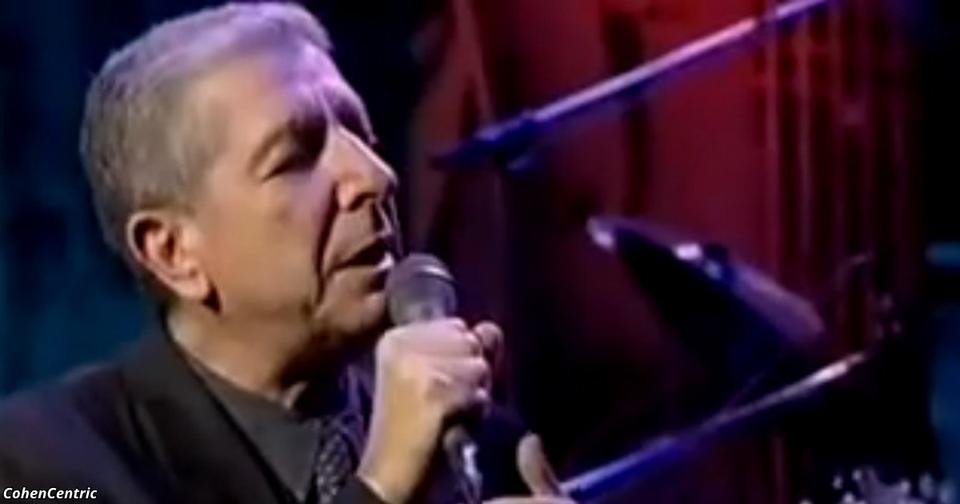 Этой песне Леонарда Коэна уже 30 лет, но она до сих пор пробирает до дрожи...