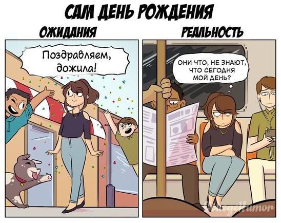 Ваш День рождения: Ожидания vs Реальность