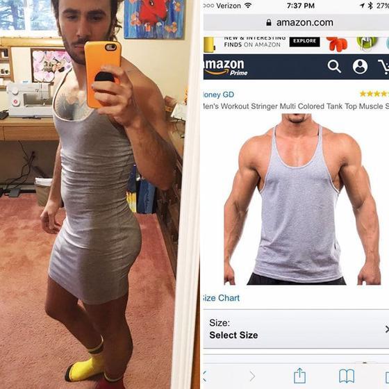 Пользователи сети поделились фотографиями онлайн-покупок, о которых они уже успели сотню раз пожалеть. А потом посмеяться