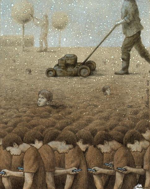 29 зверски правдивых рисунков Павла Кучинского о том, что люди - хуже животных